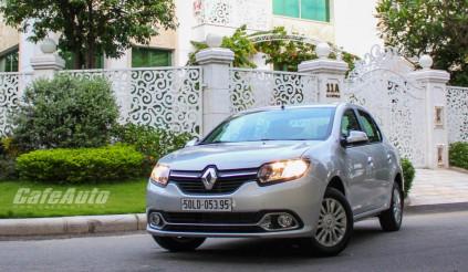 Renault Logan: Chiếc xe thú vị để cầm lái