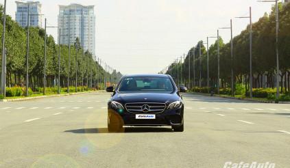 Trải nghiệm Mercedes-Benz E300 AMG lắp ráp trong nước