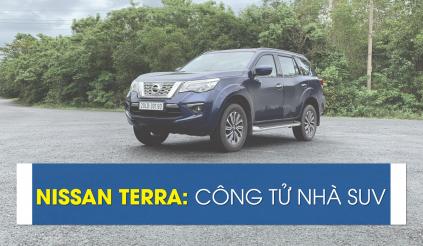 Nissan Terra: Công tử nhà SUV
