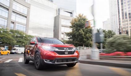 Honda CR-V 2017 được chọn là SUV của năm nay