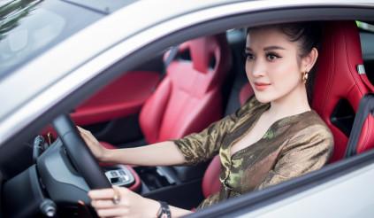 Á hậu Huyền My tậu xe sang 6 tỷ đồng, từng sở hữu nhiều xe khủng