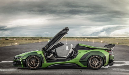 Bản độ không tưởng của BMW i8