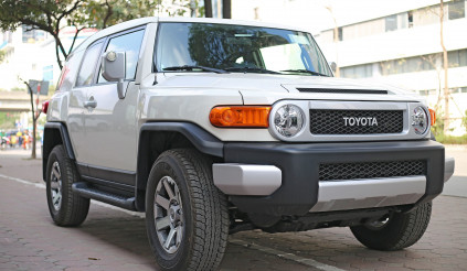 Diện kiến mẫu xe 'nồi đồng cối đá' nhà Toyota: FJ Cruiser, giá gần 4 tỷ