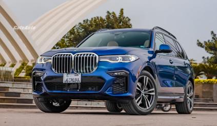 Soi BMW X7 2020 màu xanh cực hiếm: đối thủ 'nặng kí' của Navigator 2020