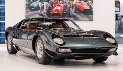 Chiếc Lamborghini Miura SV hàng độc tìm chủ mới sau khi qua tay Hoàng gia Ả-rập