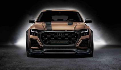 Khám phá bản độ Audi RS Q8 vượt trội bò chiến Urus
