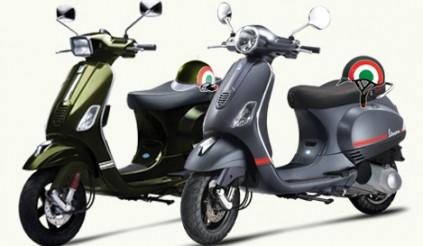 Piaggio bổ sung màu mới cho Vespa LX và S