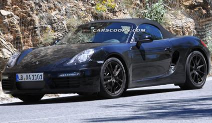 Porsche bí mật nâng cấp Boxster
