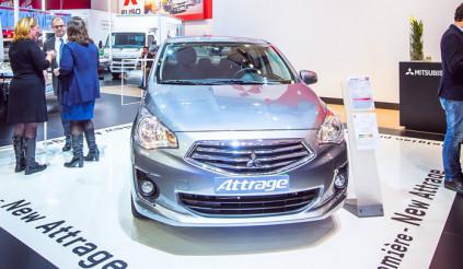 Mitsubishi thử vận may với Attrage tại Châu Âu