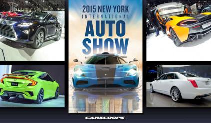 Top 5 xe ấn tượng nhất New York Auto Show