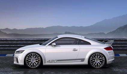 Audi TT-RS sẽ không có phiên bản số sàn