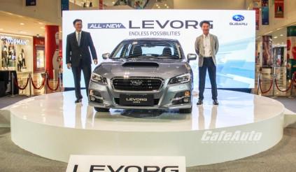 Subaru Levorg 1.6 GT-S chính thức ra mắt tại Việt Nam - Giá gần 1,4 tỷ đồng