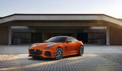 Cận cảnh Jaguar F-Type SVR mới sắp ra mắt tại Geneva Motor Show 2016