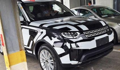 Bắt gặp Land Rover Discovery 2017 chạy thử ở Trung Quốc