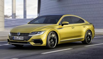Volkswagen Arteon, đối thủ cạnh tranh của Audi A5 Sportback và BMW 4-series