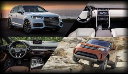 Chọn Land Rover Discovery hoàn toàn mới hay Audi Q7 hiện đại?