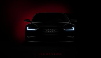 Xem trước ngoại hình Audi A8 thông qua ảnh phác họa