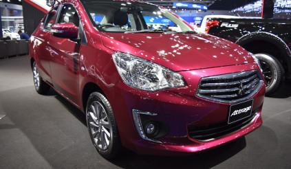 Mitsubishi Attrage 2017 trình làng, giá từ 305 triệu đồng