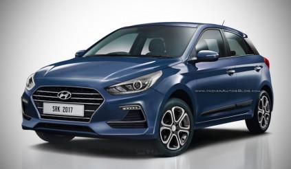 Diện mạo mới của Hyundai i20 2018 sẽ ra mắt đầu năm 2018