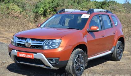 Renault Duster động cơ xăng sắp ra mắt tại Ấn Độ, giá chỉ 363 triệu đồng