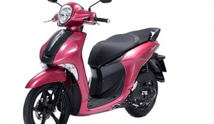 Yamaha Janus Premium thêm màu hồng và nâu, giá bán từ 31,5 triệu đồng