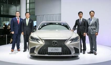 Sedan hạng sang Lexus LS có thêm phiên bản 350