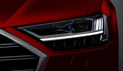 Thêm hình ảnh Audi A8 2018 được tiết lộ trước ngày ra mắt