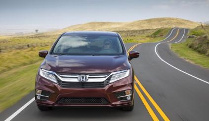 Honda Odyssey 2018 là chiếc minivan đầu tiên kết nối 4G LTE