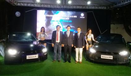 Volkswagen Scirocco R và GTS 2017 ra mắt tại Việt Nam