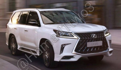 Lexus LX 570 2018 lộ ảnh thực tế