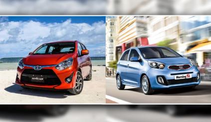 So sánh Kia Morning Si at và Toyota Wigo 1.0G at