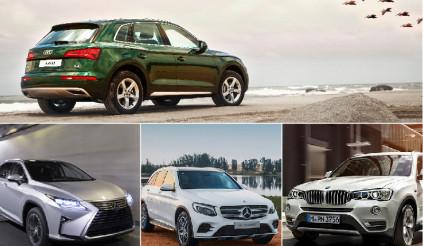 So sánh nhanh thông số 3 đối thủ của Audi Q5 2017