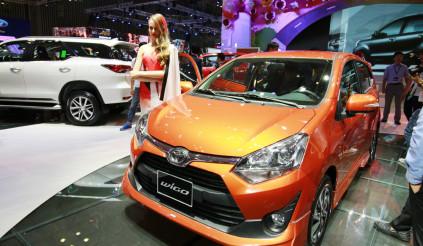 Toyota Wigo giá từ 310 triệu đồng, giao xe trước Tết