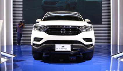 Ssangyong G4 Rexton - đối thủ mới của Hyundai Santafe