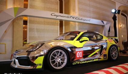 Ngắm mẫu Porsche Cayman GT4 phiên bản xe đua ngay tại Việt Nam