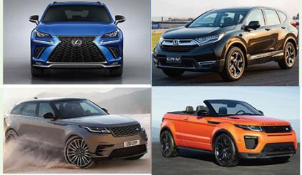 13 mẫu xe mới ra mắt tại Việt Nam trong dịp cuối năm 2017