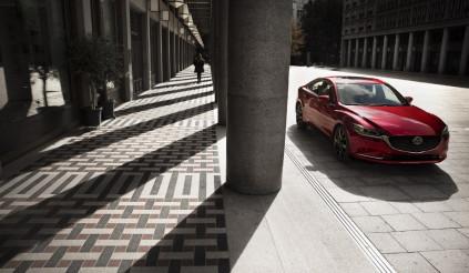 Mazda6 2018 mạnh 250 mã lực, diện mạo mới
