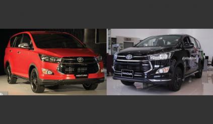 Toyota Innova Venturer lắp ráp bị cắt bỏ hàng loạt công nghệ, giá cao hơn Indonesia trăm triệu đồng