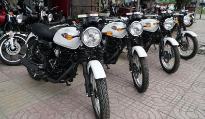 Lô hàng Kawasaki W175 đầu tiên về Việt Nam, giá từ 66 triệu đồng
