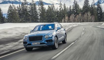 Bentley sẽ mang Bentayga V8 mới đến triển lãm ô tô Bắc Kinh 2018