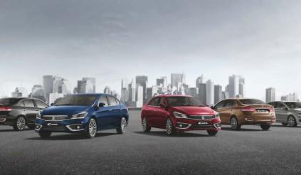 Suzuki Ciaz 2018 ra mắt tại thị trường Ấn Độ, giá từ 274 triệu đồng