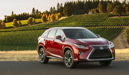 Lexus ra mắt 2 phiên bản mới RX 350L và RX 450h