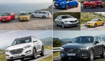Những mẫu xe bán chạy nhất tại châu Âu trong năm 2018