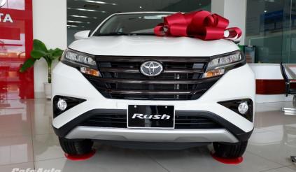 Nhỉnh hơn đối thủ Xpander 48 triệu đồng, Toyota Rush có thêm những nâng cấp gì?