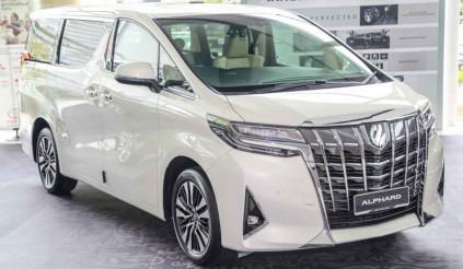 Toyota Minivan Alphard 2018 chính thức ra mắt Việt Nam, giá bán từ 4,038 tỷ đồng