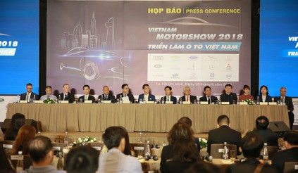 Vietnam Motor Show 2018 - hé mở một kỷ nguyên mới cho ngành công nghiệp ô tô Việt Nam