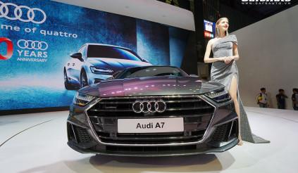 """""""Chiêm ngưỡng"""" Audi A7 Sportback 2019 tại Vietnam Motor Show 2018"""