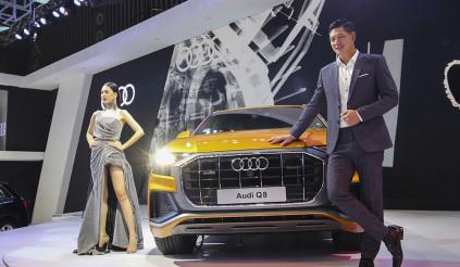 Audi Q8 2019 xuất hiện tại triển lãm Vietnam Motor Show 2018