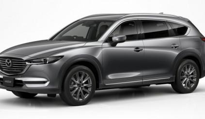 Mẫu SUV 'ăn khách' – Mazda CX-8 thế hệ mới trang bị động cơ SkyActiv-G 2.5L Turbo