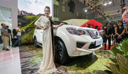 Ngắm SUV 7 chỗ Nissan Terra 2019 tại VMS 2018